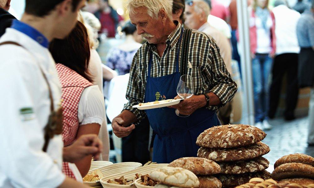 Brot und Strudelmark in Brixen