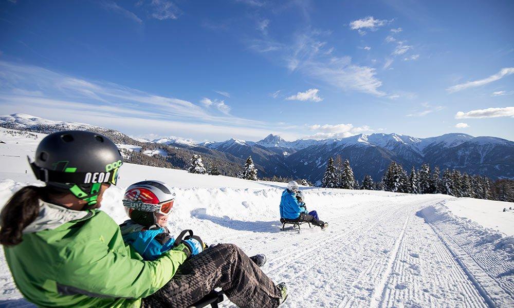 Familienurlaub im Winter: Zum Kufenspaß nach Gitschberg Jochtal