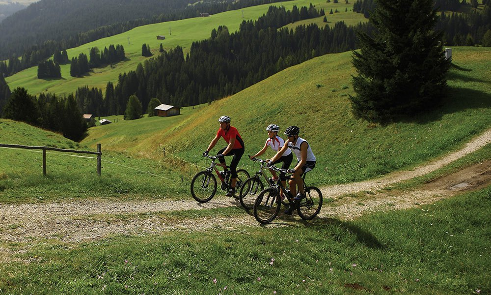 Vacanze con la Mountain-bike in Alto Adige: Piacere in alta quota su due ruote