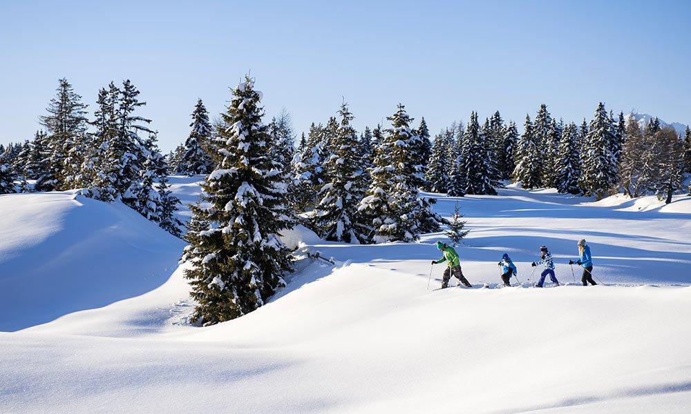 Romantischer Winterurlaub: Mit jedem Schritt die Freiheit spüren