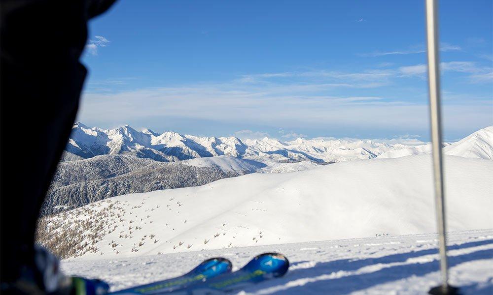Wintersportlern können gleich zwei Skigebiete nutzen